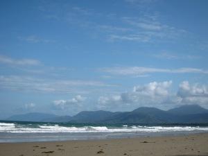 Die Aussicht vom 4-Mile Beach.
